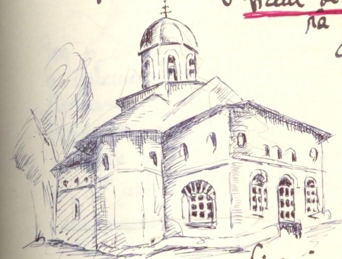 desen Olga Greceanu în manuscris Zugravi … pg. 38